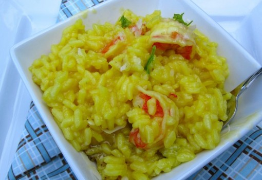 "<span class=""p-name"">Saffron and Shrimp Risotto</span>"