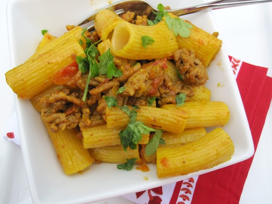 Colombian style pasta with meat saucepasta con salsa de carne pasta with meat sauce forumfinder Images