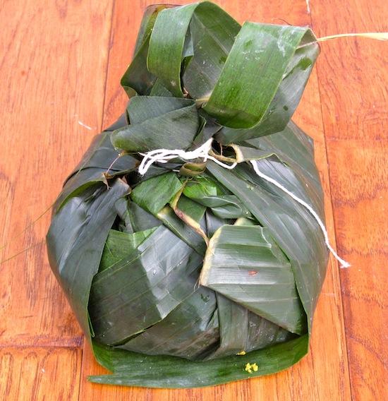 Tamal Tolimense Wrapped