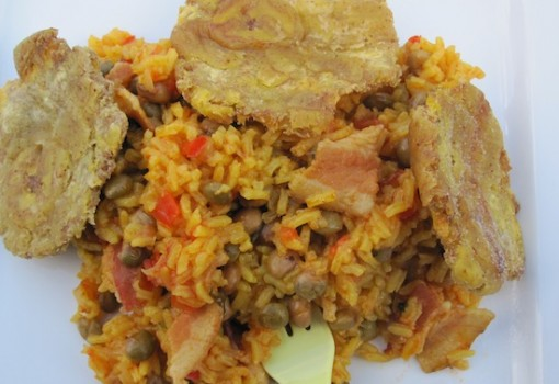 "<span class=""p-name"">Arroz con Gandules (Rice with Pigeon Peas)</span>"