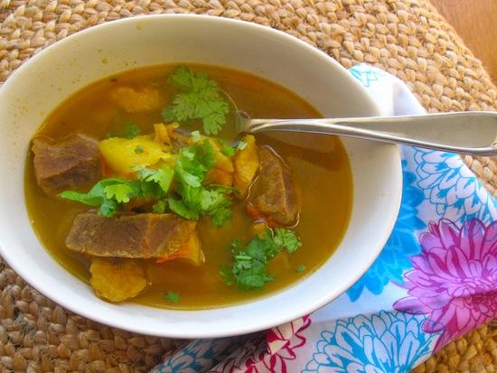 sancocho de uña or sopa de uña is a typical soup from colombia it ...