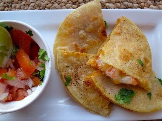 Quesadillas de Camarones (Shrimp Quesadillas) | My Colombian Recipes