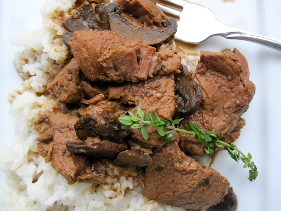Beef and Mushrooms Stew