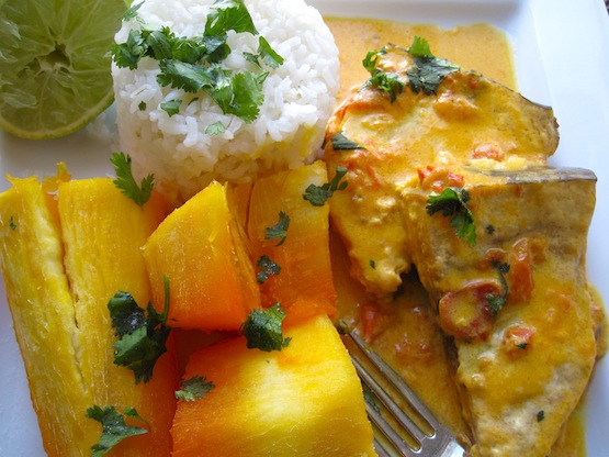 Fish and Coconut Stew