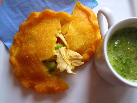 pastel de Pollo Colombiano