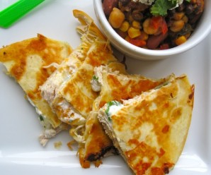 Creamy Chicken Quesadilla