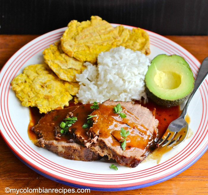 Posta Negra (Colombian-Style Black Beef)