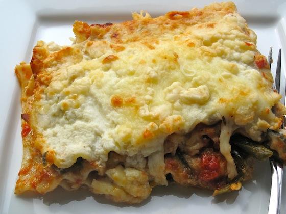 Roasted Vegetables Lasagna