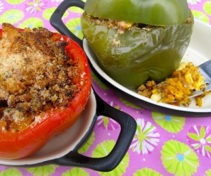Colombian Stuffed peppers