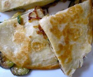Vegetables quesadilla