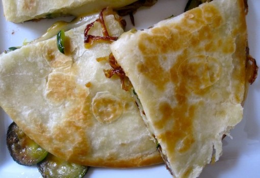 "<span class=""p-name"">Roasted Vegetables Quesadilla</span>"