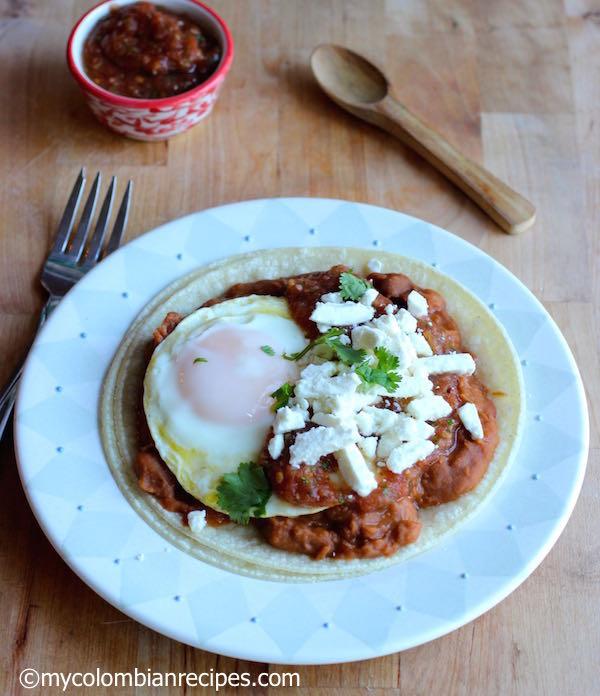 Huevos Rancheros or Ranchero Eggs