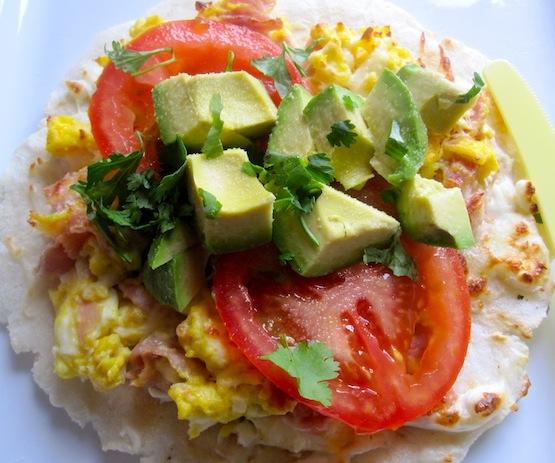 Arepa con Huevo Y Jamon