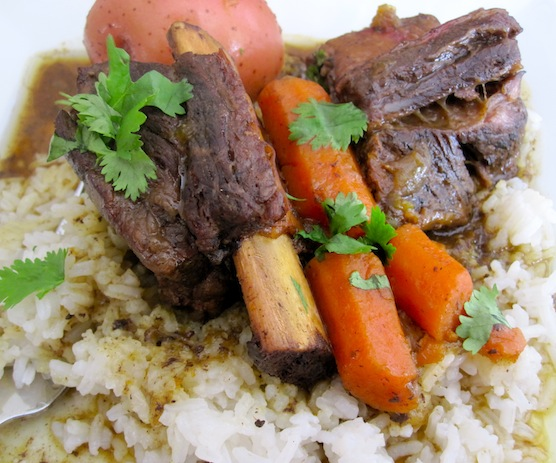 Slow Cooker Short Ribs with Colombian Spices