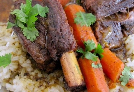 "<span class=""p-name"">Slow Cooker Short Ribs with Colombian Spices</span>"