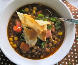 Meatless Lentil Chili (Chili de Lentejas)