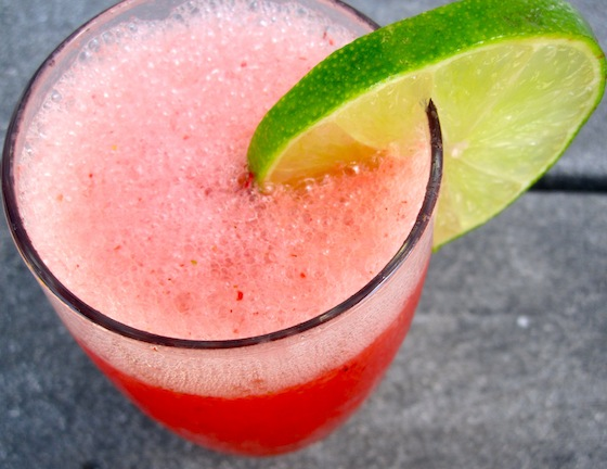 Colombian Strawberry Limeade