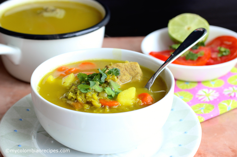 Split Pea Soup and Pork Soup (Alverjitas and Pork Soup)