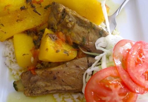 """<span class=""""p-name"""">Sudado de Costilla de Cerdo (Pork Ribs Colombian Stew)</span>"""