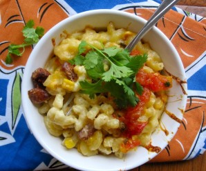 Macaroni and cheese with Hogao