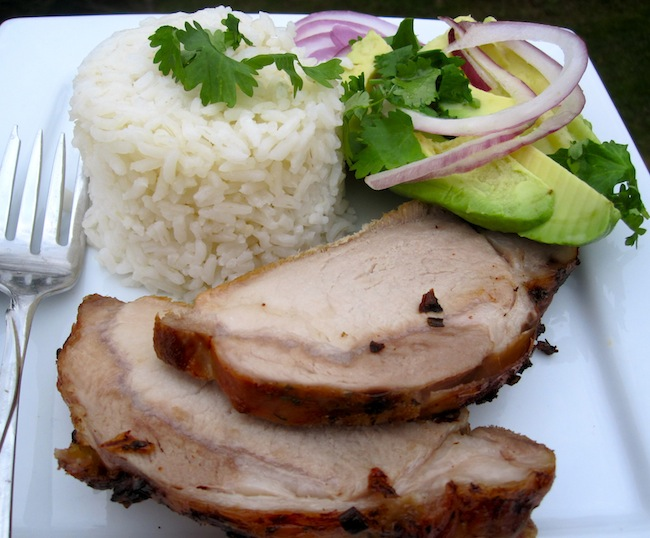 Colombian-Roasted Pork Loin