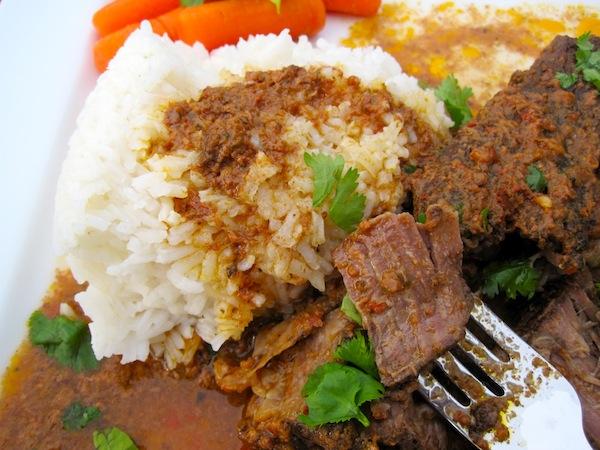 Beef with tamarind Sauce