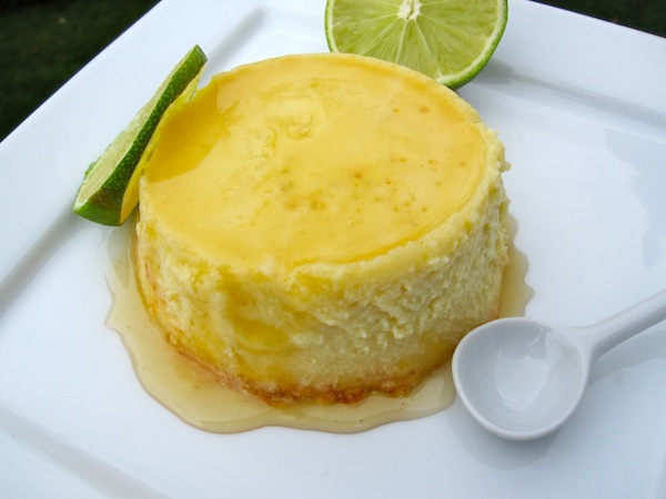 Flan de Limon