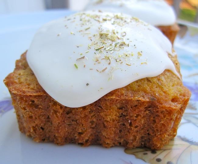 Mini Chamomile Cakes by Joy the Baker