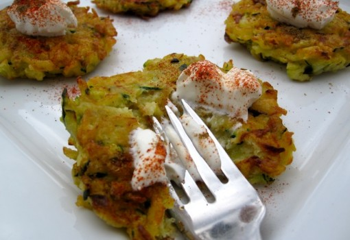 "<span class=""p-name"">Zucchini and Potato Pancakes</span>"