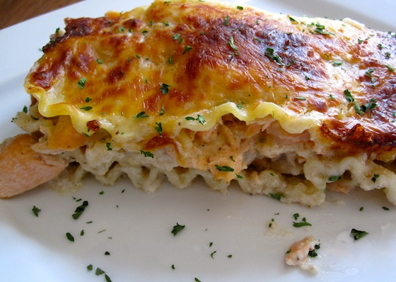 Seafood Lasagna (Lasaña Marinera)
