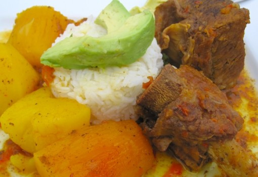 "<span class=""p-name"">Sudado de Costillas de Res (Colombian Beef Short Ribs Stew)</span>"