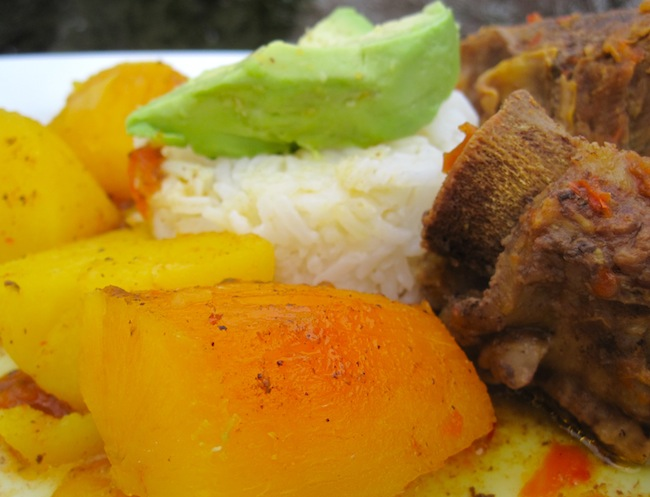 Sudado de Costillas de Res (Colombian Beef Short Ribs Stew)