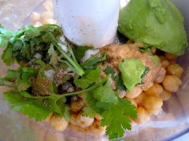 Hummus de Aguacate y Limón (Avocado and Lime Hummus)