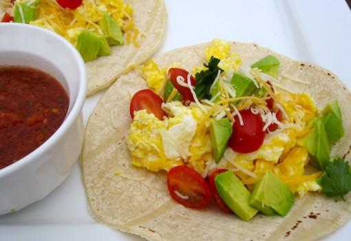 """<span class=""""p-name"""">Tacos para el Desayuno (Breakfast Tacos)</span>"""