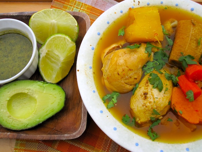 (Colombian Chicken Soup from Los Llanos)