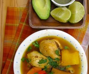 Colombian Chicken Soup Llanero
