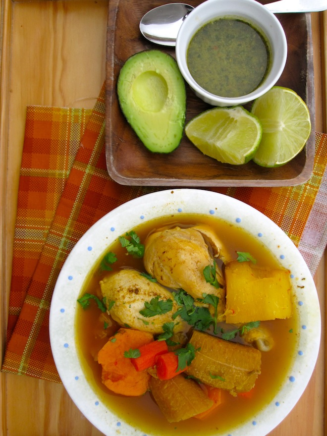 Colombian Chicken Soup Llanero