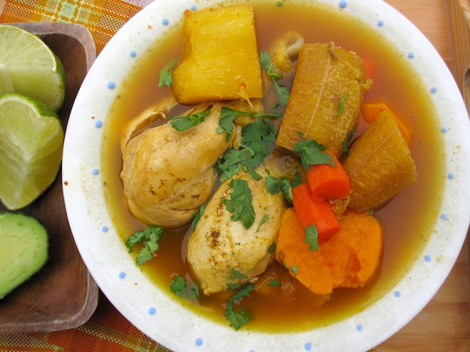 Hervido Llanero De Pollo Colombian Chicken Soup From Los Llanos My Colombian Recipes