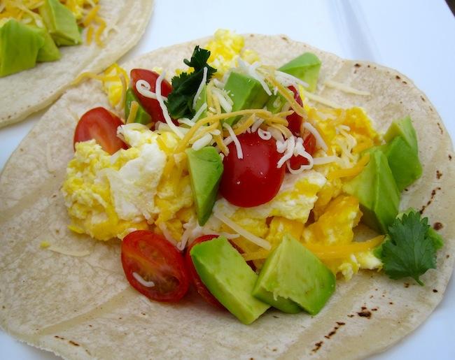 Tacos para el Desayuno (Breakfast Tacos)