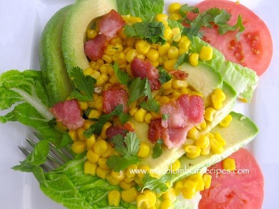 Avocado-and-Corn-Salad-with-Lime-Vinagrette-
