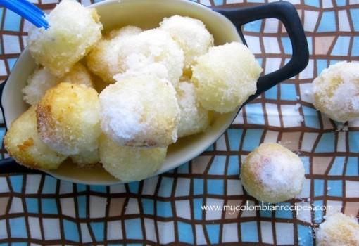 """<span class=""""p-name"""">Bolitas de Yuca con Azúcar (Cassava Balls with Sugar)</span>"""