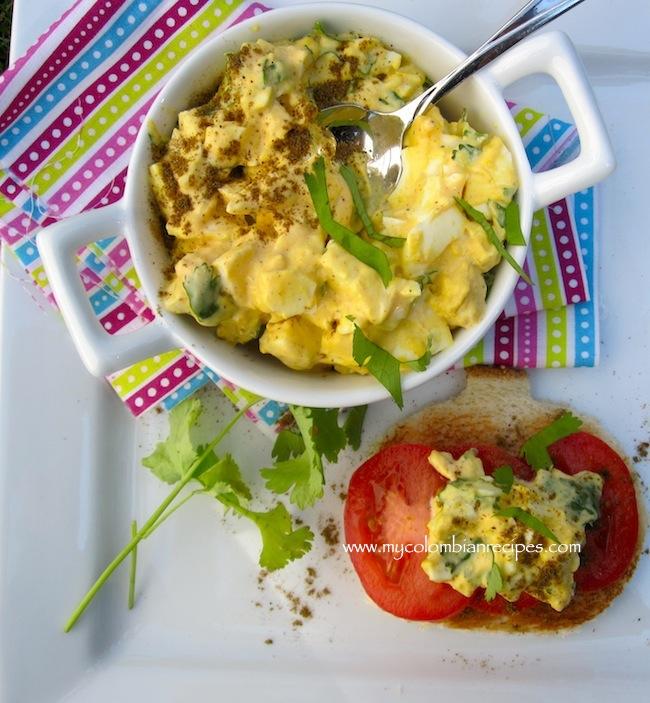 Cumin, and Cilantro Egg Salad