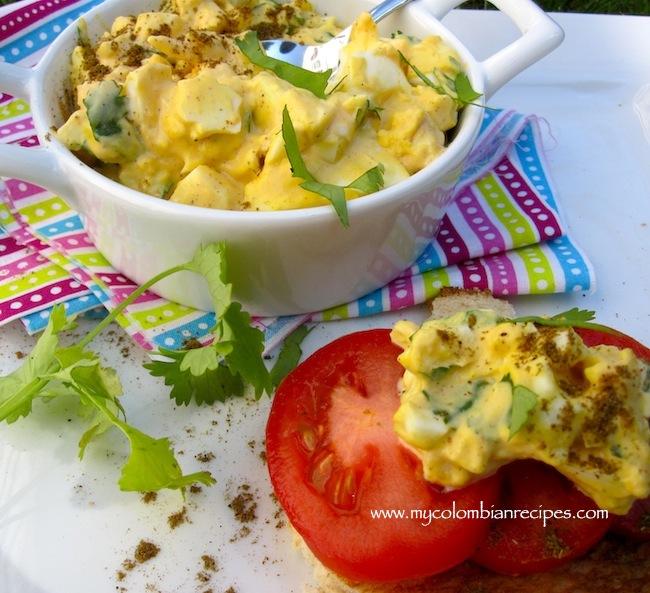 Cumin, and Cilantro Egg Salad (Ensalada de Huevo con Comino y Cilantro