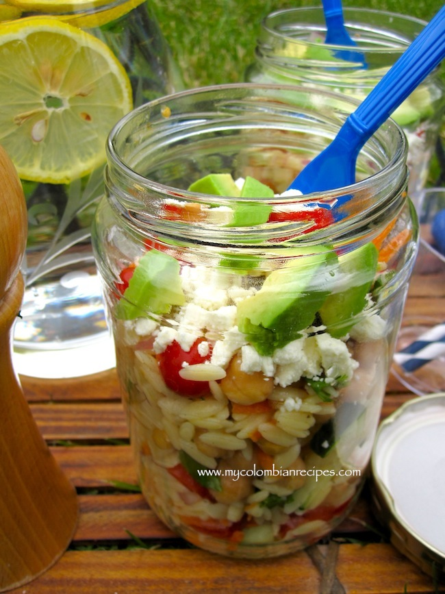 Picnic Orzo Salad and a GE French Door Fridge Giveaway!