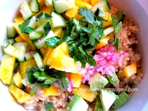 Quinoa-salad-with-pineapple