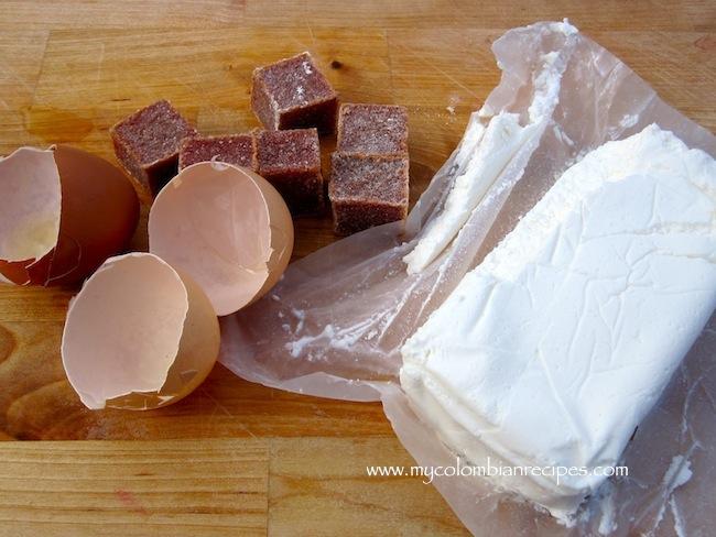 cheese,eggs, bocadillo