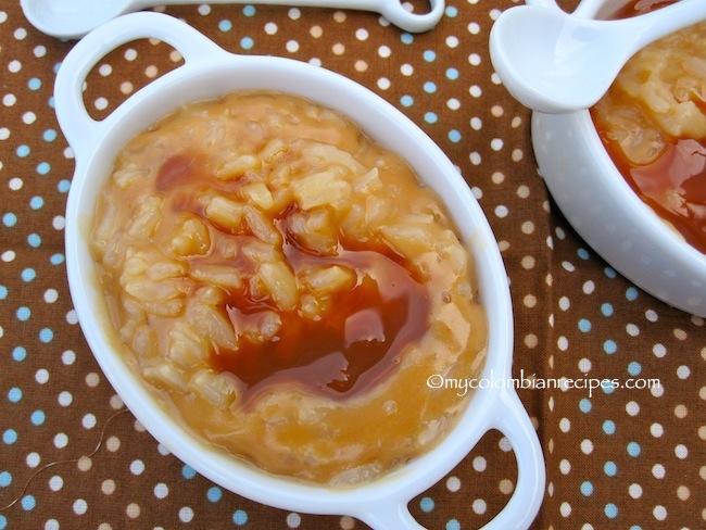 Arroz con Leche de Arequipe (Dulce de Leche Rice Pudding)