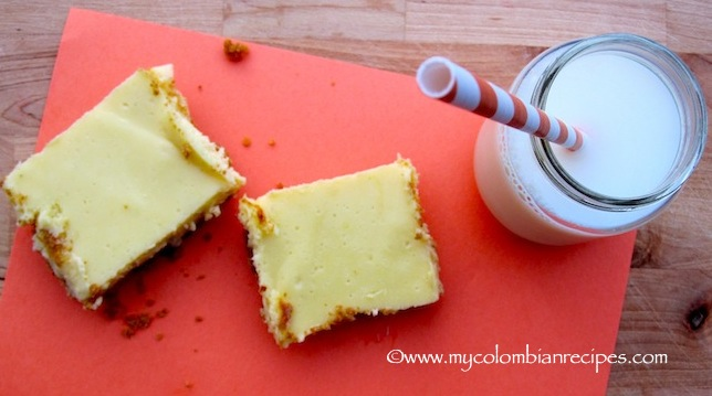 Barras de Limón (Simple Lime-Lemon Bars)
