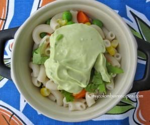 Macaroni salad w