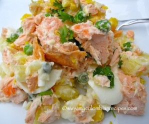 Ensalada de Salmón y Papa (Salmon and Potato Salad)
